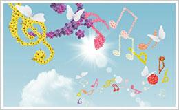 aria acustica note musicali