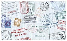 centro stranieri passaporto timbri